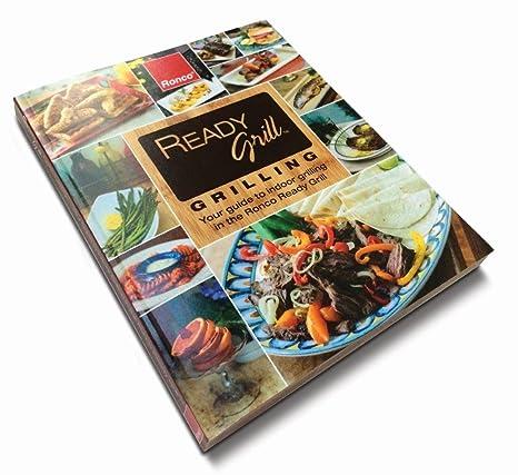 Amazon.com: Ronco Ready parrilla Asar a la parrilla Cookbook ...