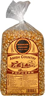 product image for Amish Country Popcorn | 2 lb Bag | Mushroom Popcorn Kernels | Old Fashioned with Recipe Guide (Mushroom - 2 lb Bag)