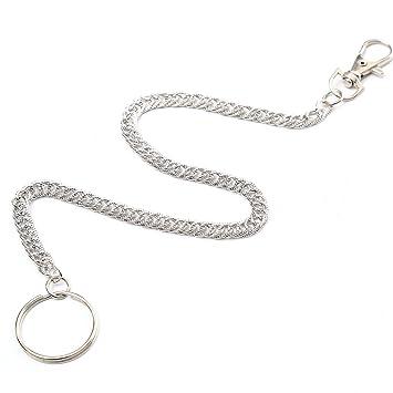 Hosenkette Schlüsselkette Karabinerhaken Kette Schlüssel Anhänger Ring Karabiner