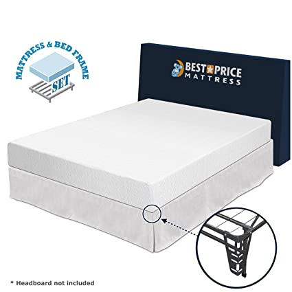best price mattress 8 memory foam mattress and premium bed frame - Best Foam Mattress