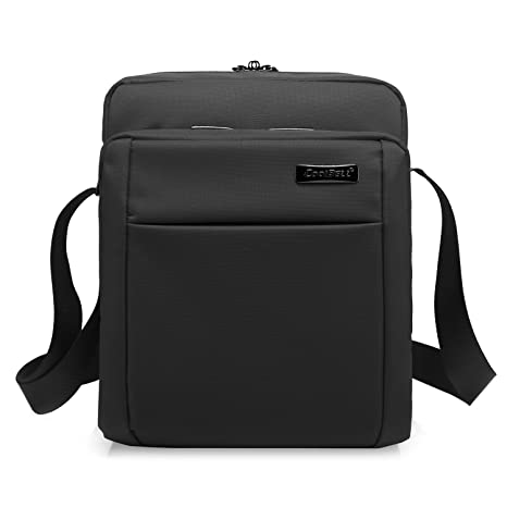 5533d1b64228 CoolBELL 10.6 Inches Shoulder Bag Oxford Cloth Messenger Bag iPad Carrying  Case Functional Hand Bag Briefcase. Roll over image to zoom in