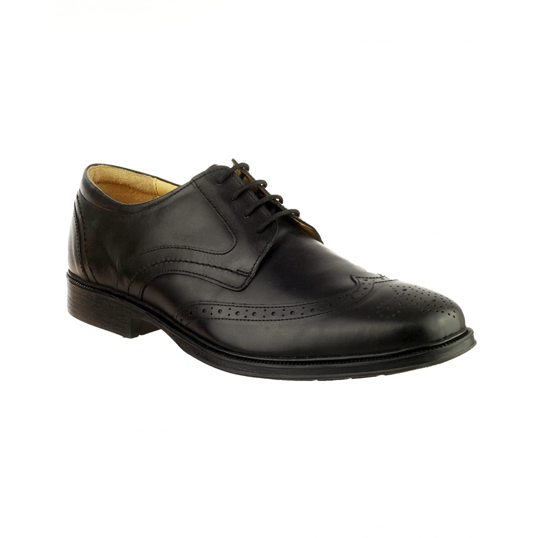 Cotswold - Zapatos de Cordones Hombre Negro