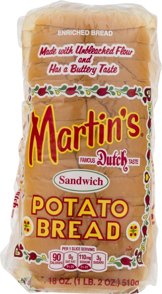 Martin del Pan de patata – Pack de 3: Amazon.com: Grocery ...