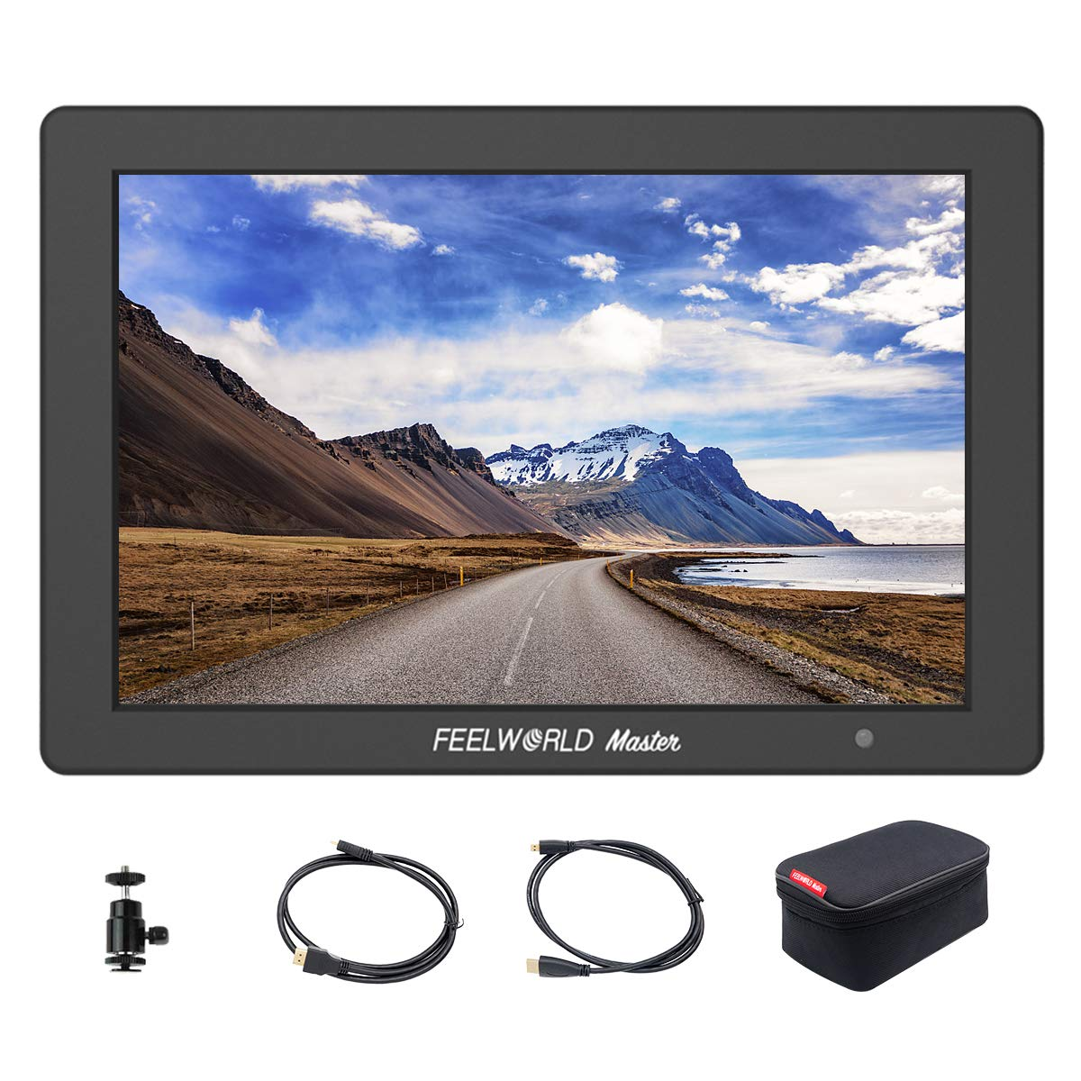 Feelworld Master MA6, 5.7 inch on Camera Field Monitor, Full HD 1920x1080 IPS, for Gimbal/Stabilizer, 4K HDMI Input Output, Aluminum Frame.