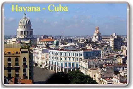 CUBA FLAGS // SIGHTS NEW // GIFTS HAVANA SOUVENIR NOVELTY FRIDGE MAGNET