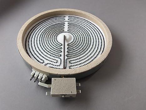 Calefactor de Hornilla Placa Cocina Vitrocerámica Dual 120 ...