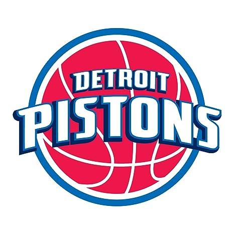 Detroit Pistons NBA Escudo de pared Pegatina Vinilo 60 cm x ...