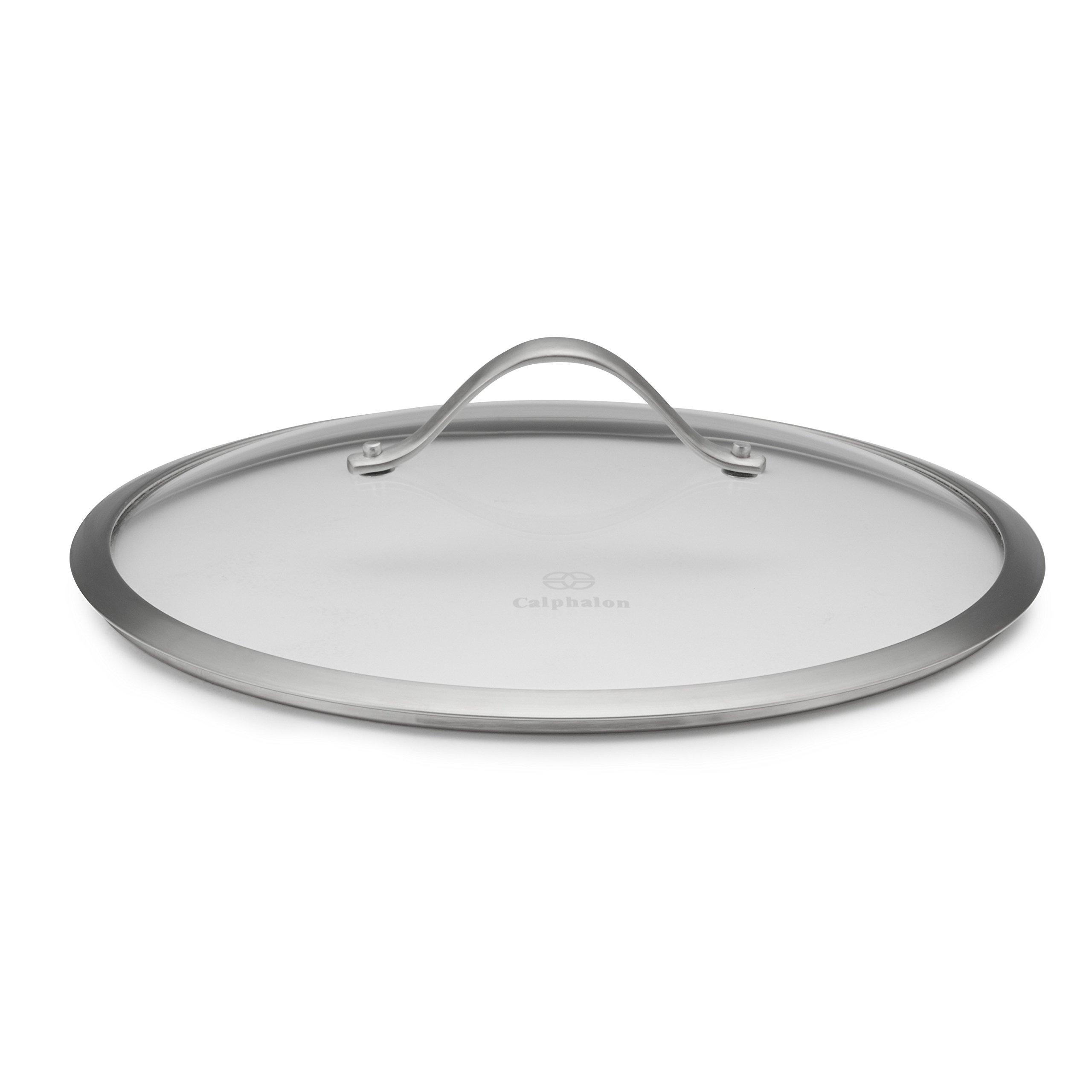 Calphalon Contemporary Hard-Anodized Aluminum Nonstick Cookware, Lid, 12-inch, Glass by Calphalon