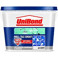 UniBond - Lechada triple protección antimoho para azulejos