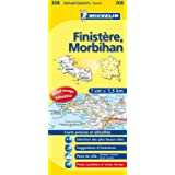 Carte DPARTEMENTS Finistre, Morbihan