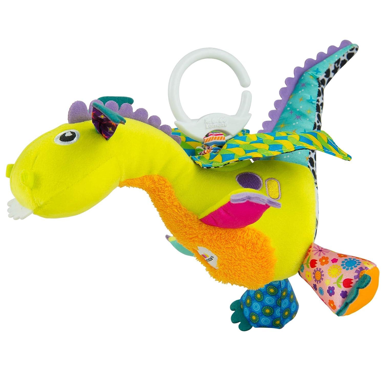 Lamaze Baby Spielzeug Fiona Greifling Anh/änger zur St/ärkung der Eltern-Kind-Beziehung der Flamingo Clip /& Go ab 0 Monate hochwertiges Kleinkindspielzeug