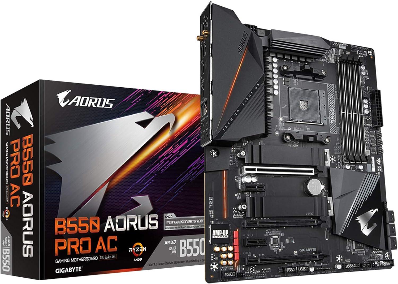 Gigabyte Technology Placa Base B550 Aorus Pro AC