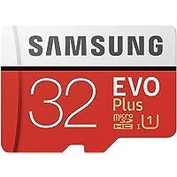 Samsung Evo Plus 32 GB Micro SD Hafıza Kartı Adaptörlü Class10