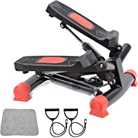 AUSELECT Exercise Bike, Exercise Stepper, Pedal Exerciser Mini Aerobic Stepper Machine with Display, Low Noise Fitness…