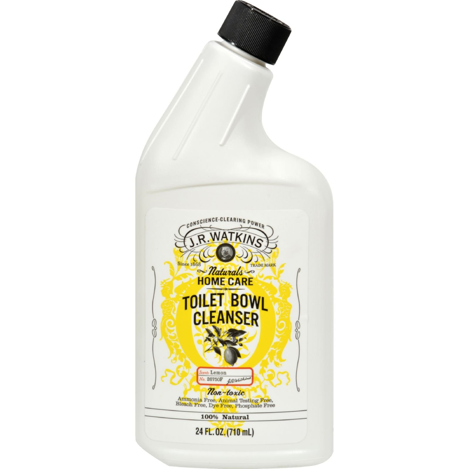 J.R. Watkins Toilet Bowl Cleanser Lemon - Natural - 24 fl oz (Pack of 4)