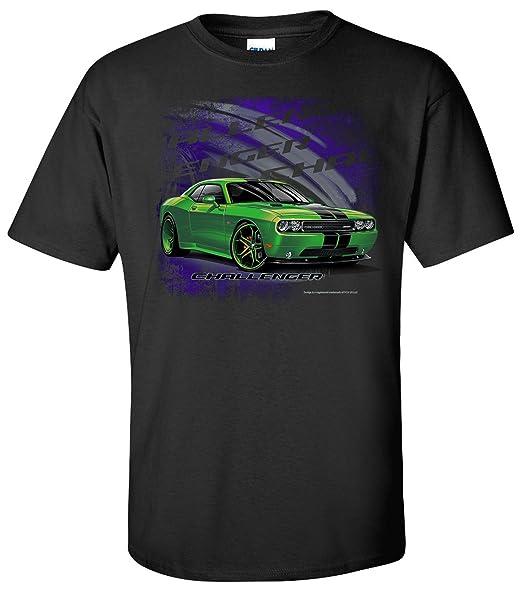 Dodge Challenger SRT T-Shirt 100% Cotton