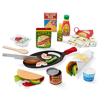 Melissa & Doug Taco & Tortilla Set (9370): Toys & Games
