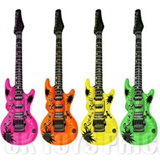 HENBRANDT Inflatable Union Jack Guitar
