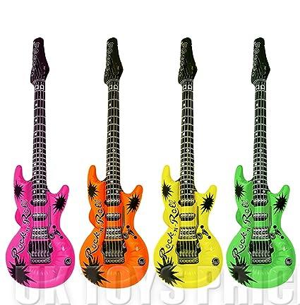 Colores 1x Surtidos Inflable Guitarra Cm 106 PXkiOZTu