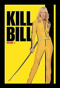 Wallspace Kill Bill Volume 1-11x17 Framed Movie Poster