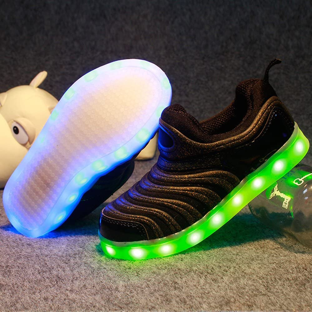 24XOmx55S99 Children LED Light Shoes USB Charge Fashion Shoes