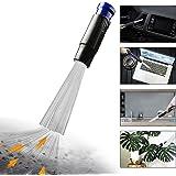 Testina Universale per Aspirapolvere 30-35mm Dust Spazzola Daddy Pulisci aspirapolvere Strumenti per pulizia Dust Duster per PC Tastiera per schermo CD(Blu)