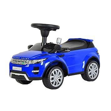 licensed range rover push kids ride on car blue