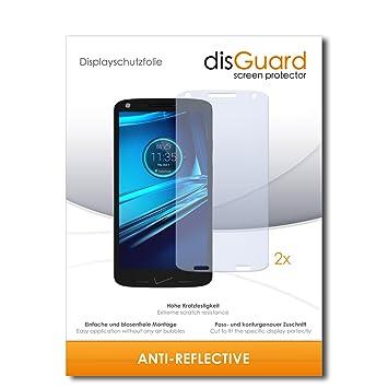 2 x disGuard Anti-Reflective Lámina de protección para Motorola Droid Turbo 2: Amazon.es: Electrónica