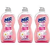 Mir Vaisselle Secrets de Fleurs Cerisier Impérial Liquide Vaisselle 500 ml Lot de 3