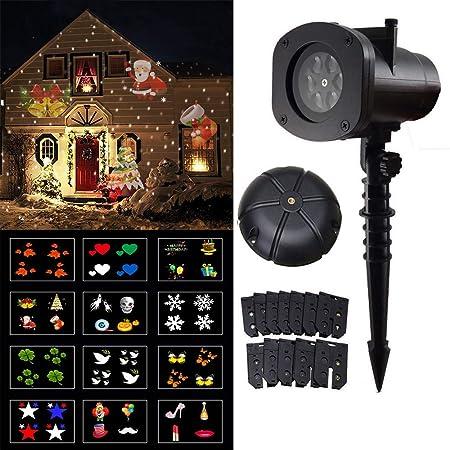 EFGS Proyector De Luz LED De Navidad, Proyector De Luz De Navidad ...