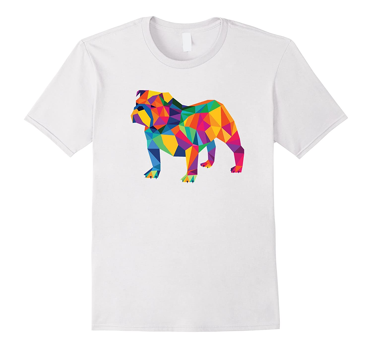 70a749de7 English Bulldog Geo Fractal T-Shirt-CL – Colamaga