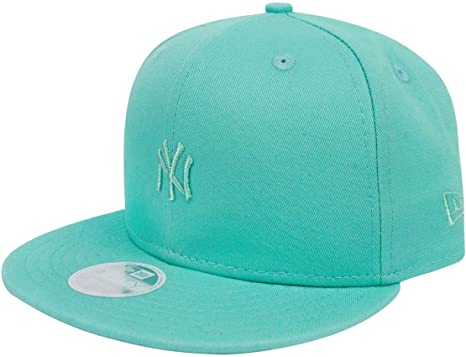 b25b522e1d5 Image Unavailable. Image not available for. Color  New Era 9Fifty MLB New  York Yankees Pastel Teal Women s Snapback Cap
