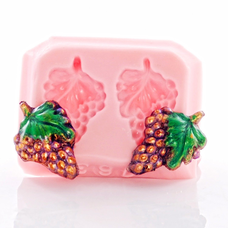 Silicone Mold Tiny Grape Clusters Food Safe Fondant