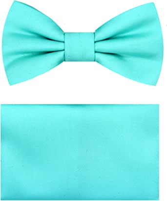 Dusky Pink Polyester BOYS Ready Pre-tied Bow tie /> 60 Colours Available in Shop