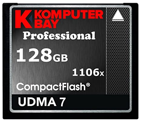 1106 x profesional 128 GB tarjeta de memoria CF Komputerbay ...