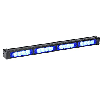 Amazon lamphus solarblast sbls44 16w led strobe warning deck amazon lamphus solarblast sbls44 16w led strobe warning deck light bar blue automotive aloadofball Image collections