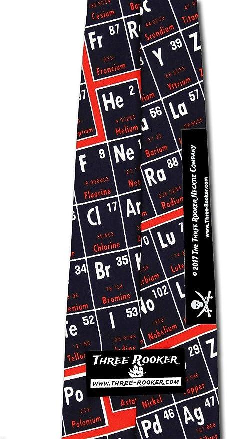 Education Ties Men/'s Science Necktie Periodic Table Tie