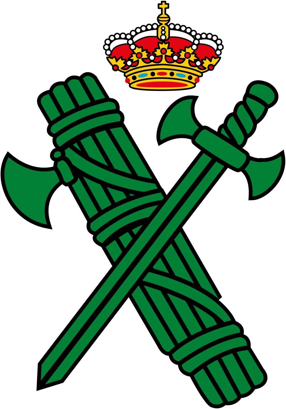 Artimagen Pegatina Logotipo Guardia Civil 40x60 mm.: Amazon.es: Coche y moto