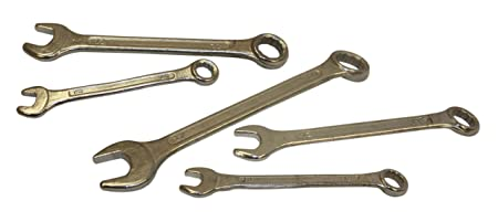 BRAND NEW ROLSON 5 PC COMBINATION SPANNER SET