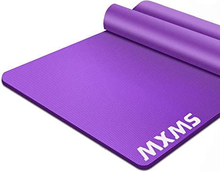 Tapis de Yoga Antidérapant Exercice Pilates Gym Physio Fitness Aerobic Turbo Trainer Mat