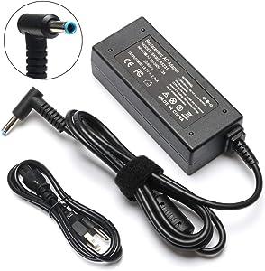 45W 19.5V 2.31A Ac Adapter Charger for HP Stream Chromebook 11 13 14 15 Pavilion X2 X360 Elitebook Folio 1040 G1 G2 G3 15-ba009dx 15-ba079dx 14-ax012ds 13-c077nr 11-y010wm 11-y010nr Laptop Power Cord