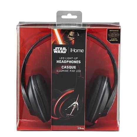 c7a7ceebb0d Amazon.com: Star Wars Episode 7 Over-The-Ear Headphones Light Up Headphones  (Li-M52E7.FX): Home Audio & Theater