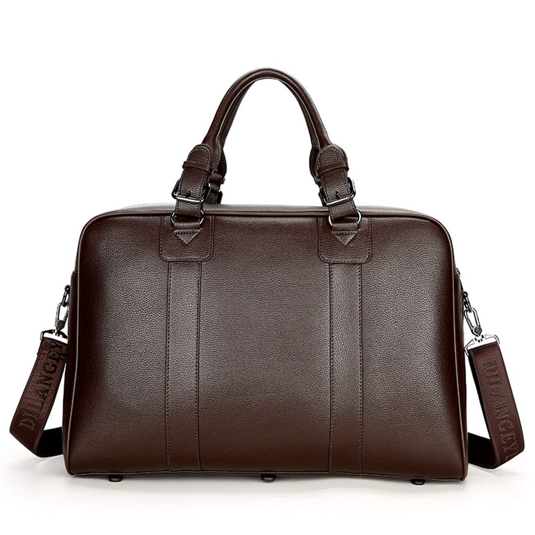 Color : Brown RABILTY Men High Capacity Handbag Business Bag Travel Bag Briefcase Short-Distance Luggage