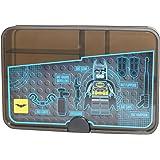 LEGO Batman smistamento Box, Custodia/Contenitore con scomparti, trasparente Nero, Trasparente Nero