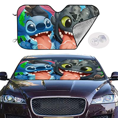 Details about  /Folding Front Car Window Sun Shade Auto Windshield Visor Block Cover 130 × 70 CM