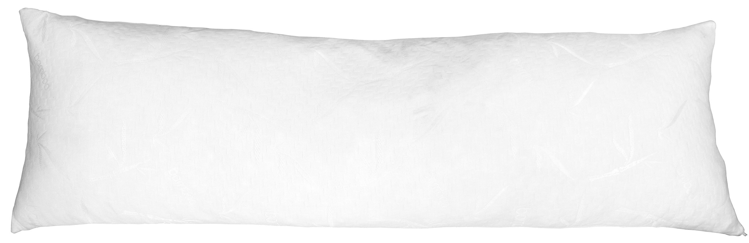 Bambusa Luxury Shredded Memory Foam Body Pillow, Premium Quality, Cooling Flow Material, Fully Adjustable, Hypoallergenic, Bio-Degradable, 100% Recycled, Made In USA