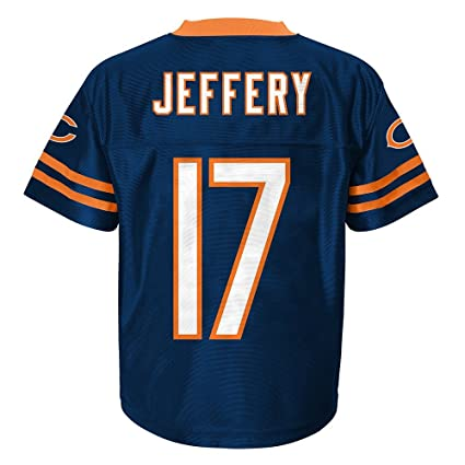 df0b7155b Image Unavailable. Image not available for. Color  Outerstuff Alshon  Jeffery NFL Chicago Bears Replica Home Navy Blue Jersey Toddler (2T-3T