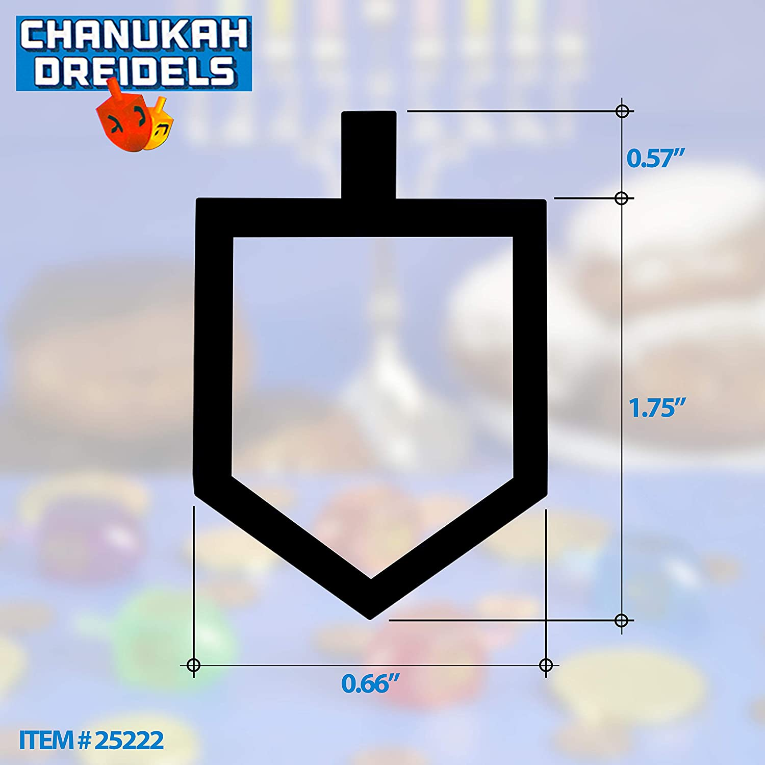 Gift and Prize Ner Mitzvah 100 Medium Dreidels by Izzy /'n/' Dizzy 25222 by Izzy n Dizzy Gift and Prize Bulk Value Pack Bulk Value Pack Classic Chanukah Spinning Draidel Game Natural Wood