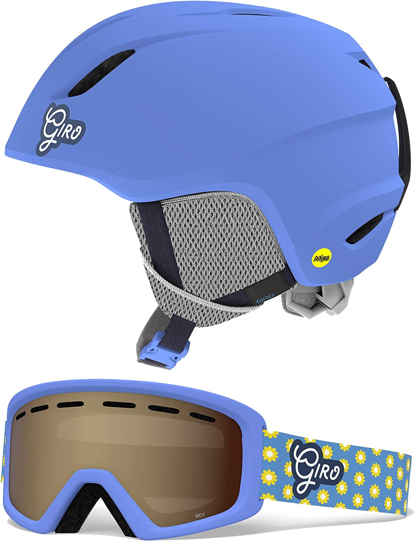 Giro Slingshot Combo Pack Kids Snow Helmet w//Matching Goggles