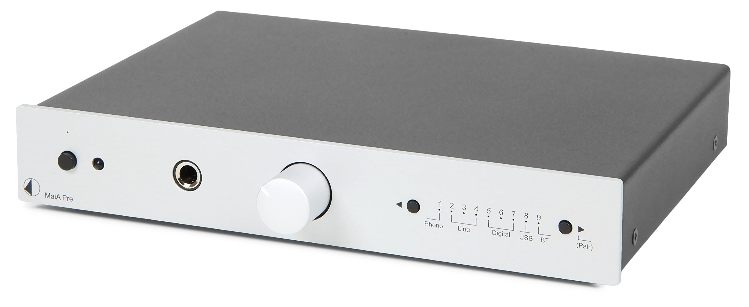 Pro-Ject Hi-Fi Stereo Amplifier (MaiA Pre (silver)) by Pro-Ject